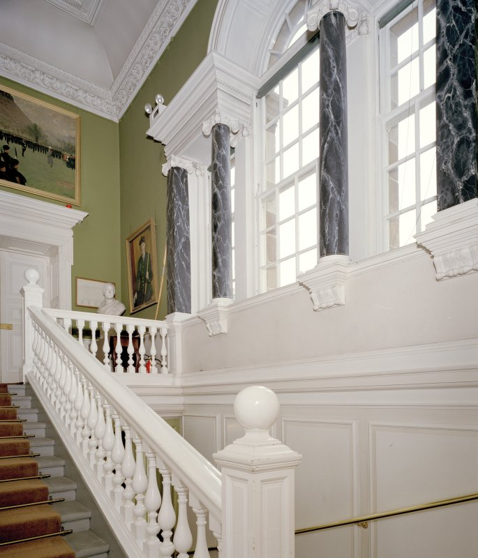 Interior. View of main staircase