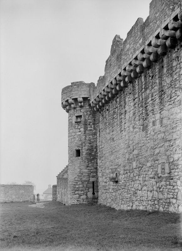 Curtain wall from West