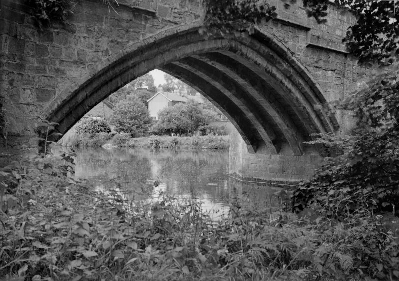 Cramond Old Bridge Detail of West arch