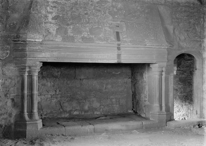 Interior - Hall fireplace