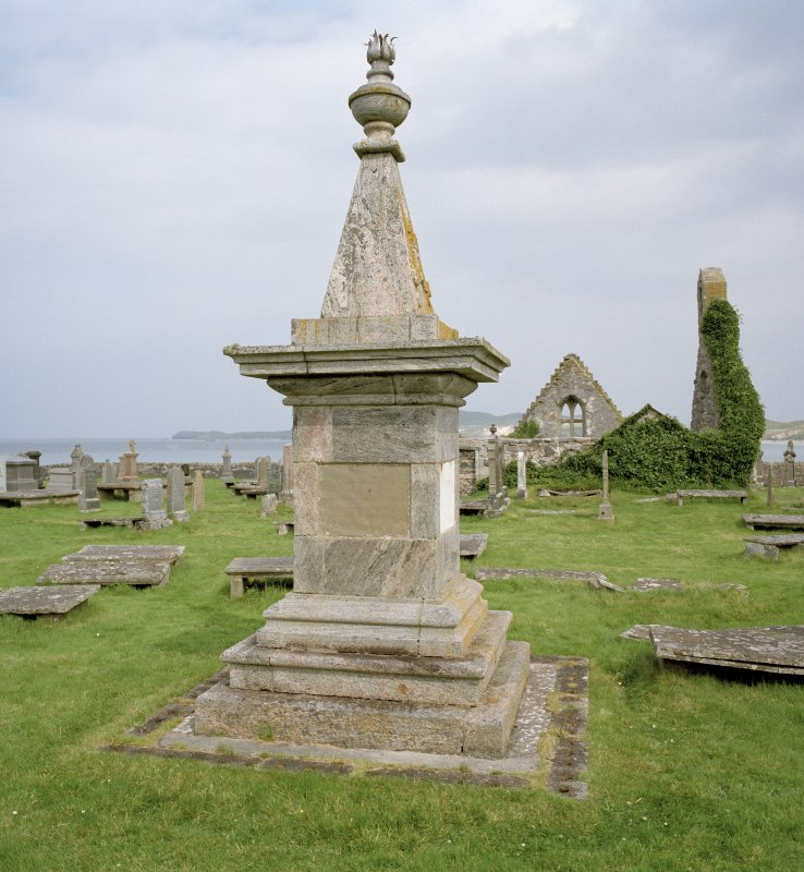 Monument to Rob Doune (Robert Mackay), view from S