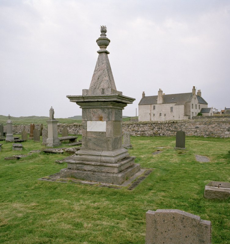 Monument to Rob Doune (Robert Mackay), view from W