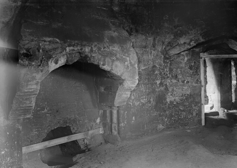 Interior. View of abutments