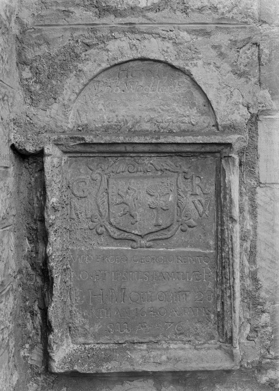 Detail of grave-slab.