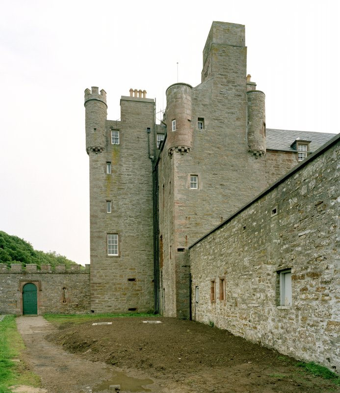 View of castle from north