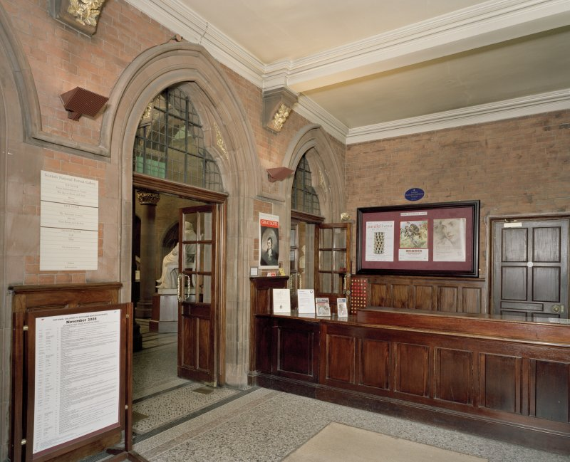Interior. Ground floor. Entrance lobby