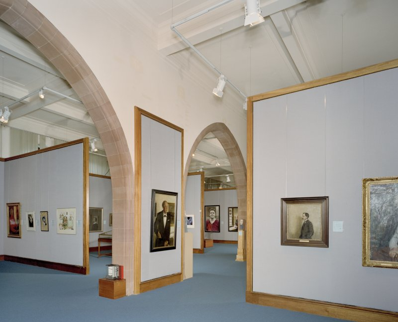Interior. First floor.  Gallery