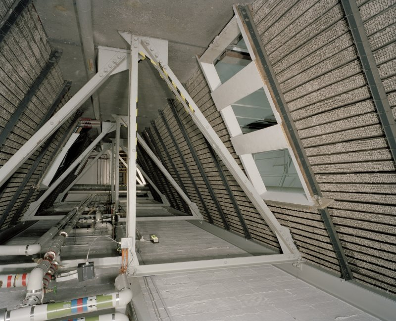 Interior. Roof space