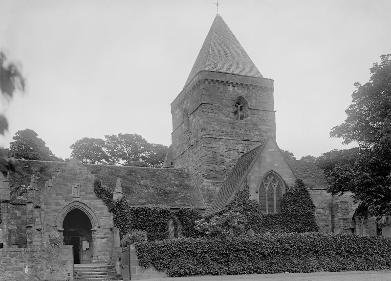 Whitekirk Church before 1914.