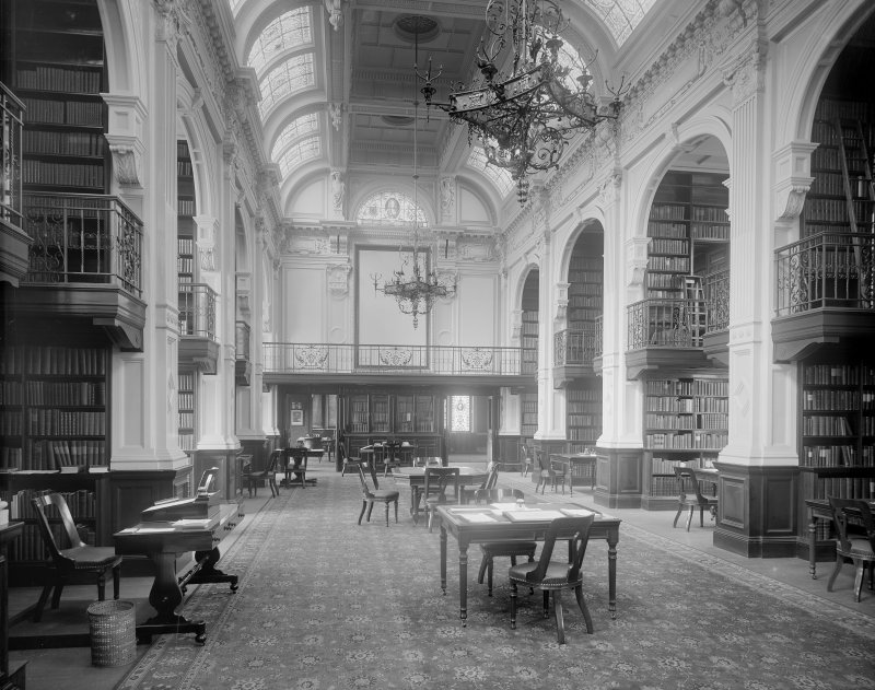 Interior-general view of Reading Room