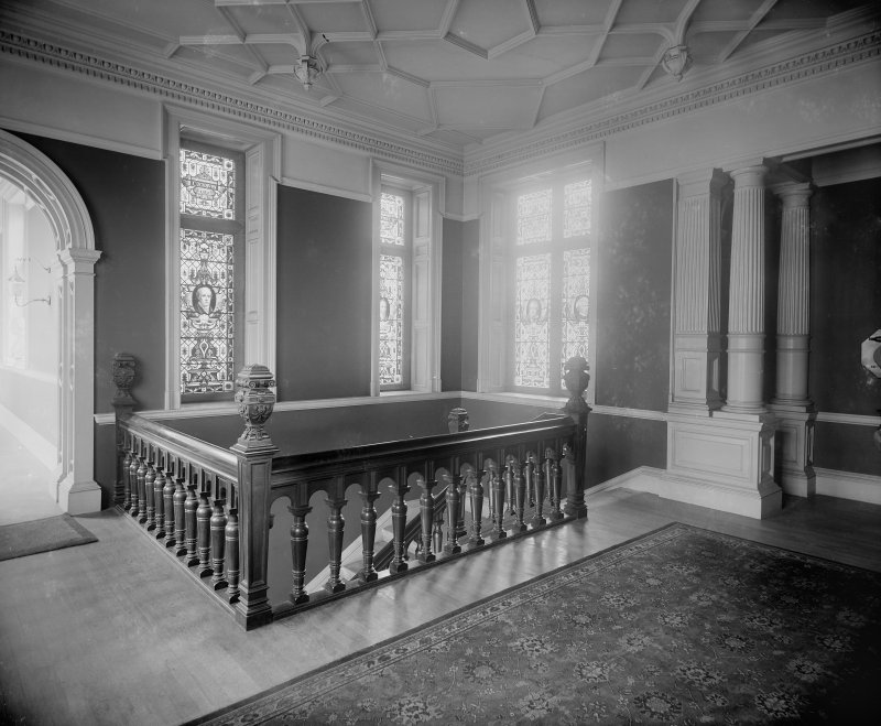 Interior-general view of top of Staircase