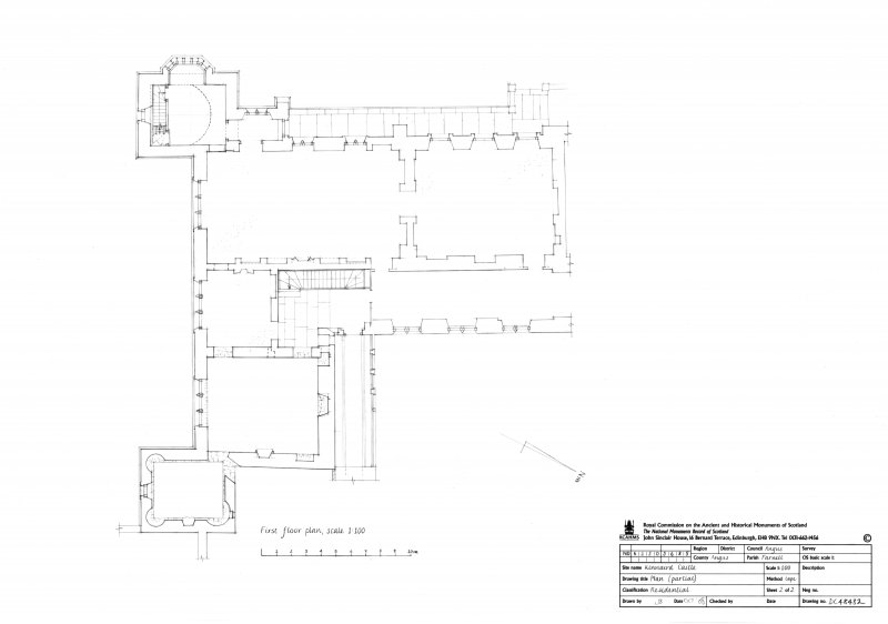 First floor plan (partial)