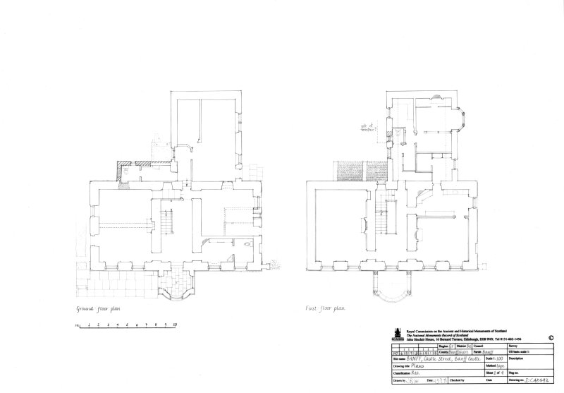 Ground floor plan and First floor plan