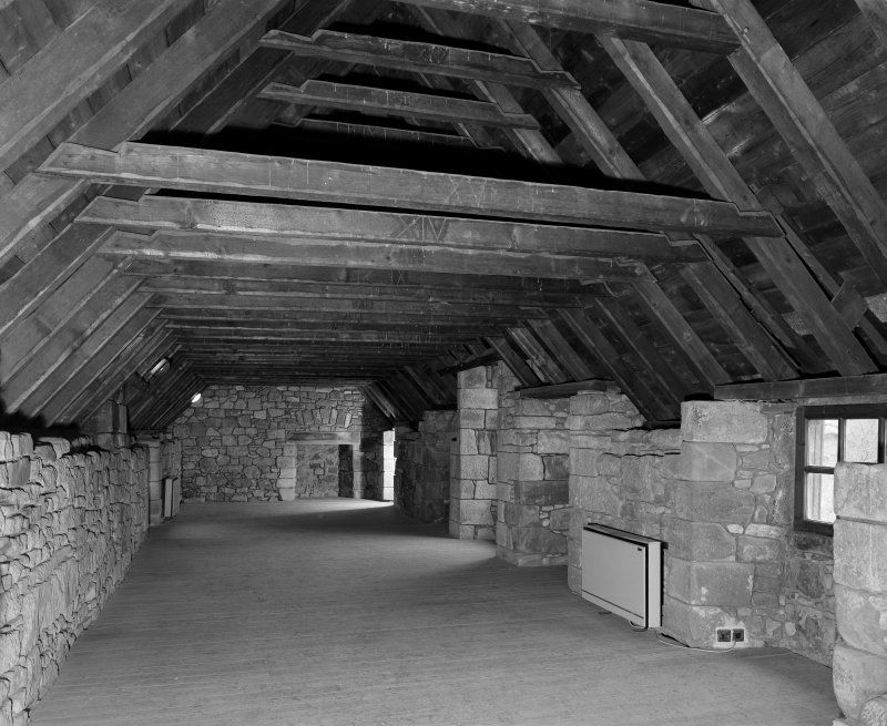 Interior. View of attic room from South-West.