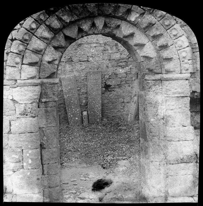 View of doorway to chapel.
