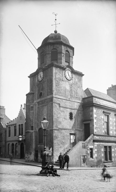 View of Dysart Tolbooth.
