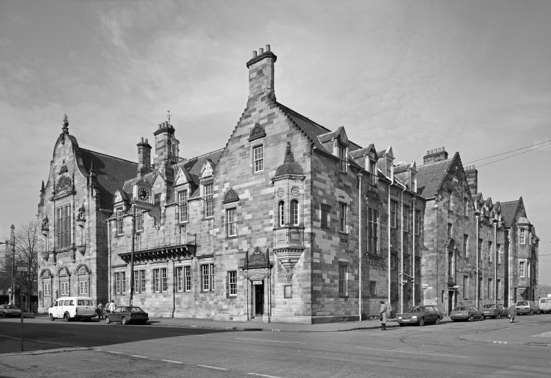 Glasgow, 840 Govan Road, Pearce Institute General view from South East.