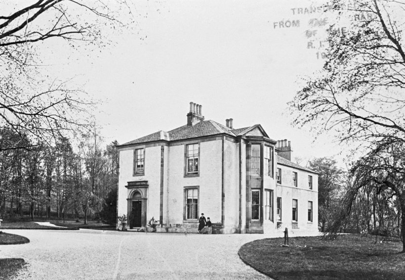 Glasgow, Legburn House. General view.