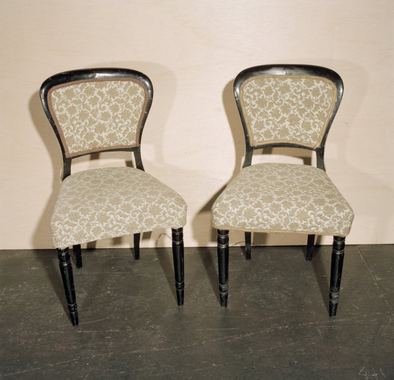 Interior. Pair of chairs (dating from 1870's)