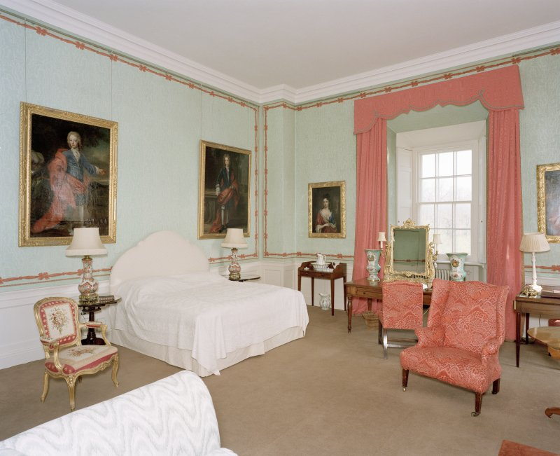 Interior, 2nd. floor south east corner bedroom, view from south west