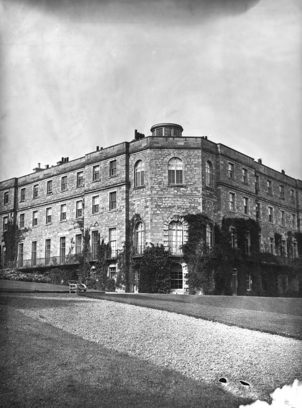 View of garden front from South West