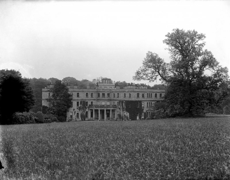 Minto House View from North East of entrance front
