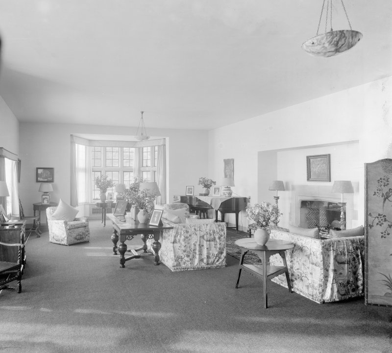 Interior view of Drawing Room