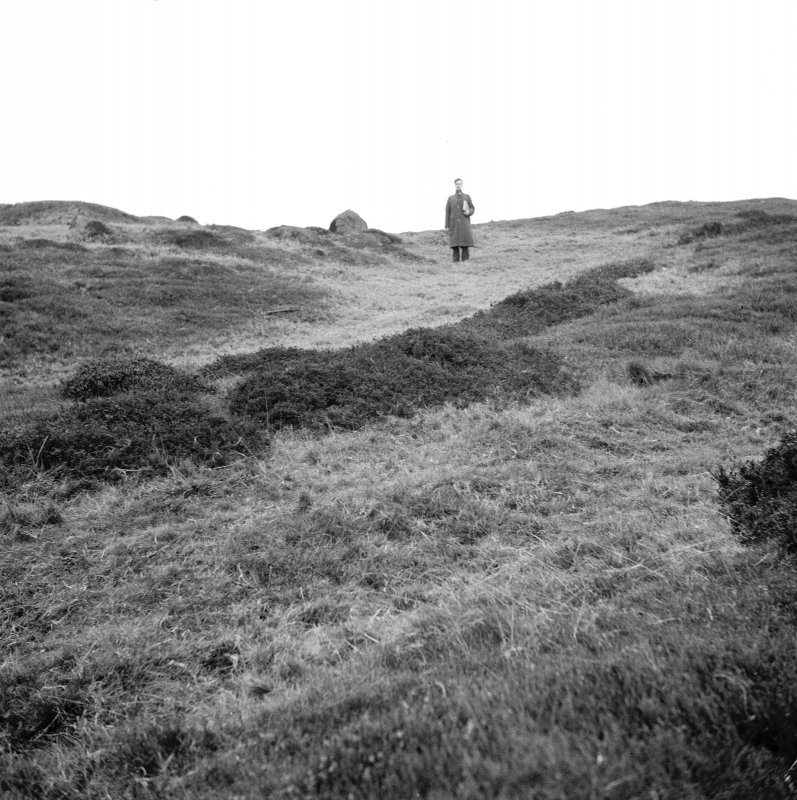 View of Cairnpapple prior to excavation by Professor S Piggott.
