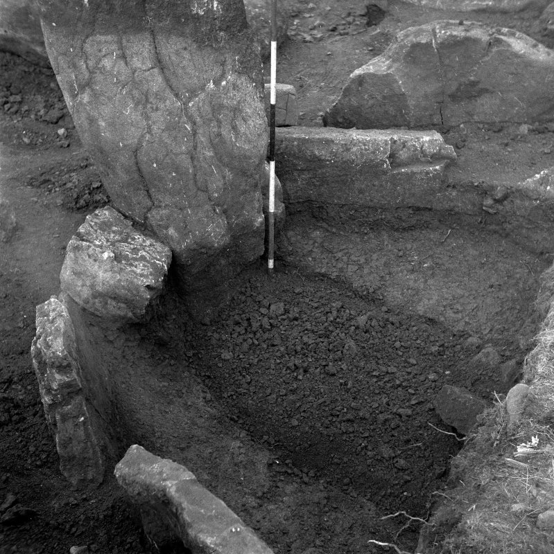 Excavation photograph by Professor Stuart Piggott showing