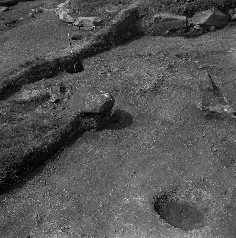 Excavation photograph by Professor Stuart Piggott.