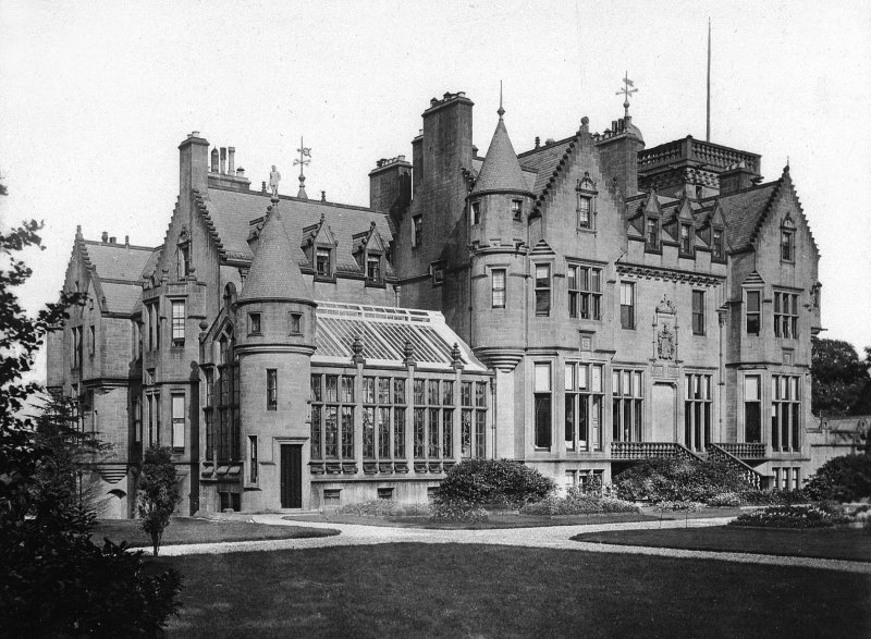 View of Craigends House, Renfrewshire, from N.