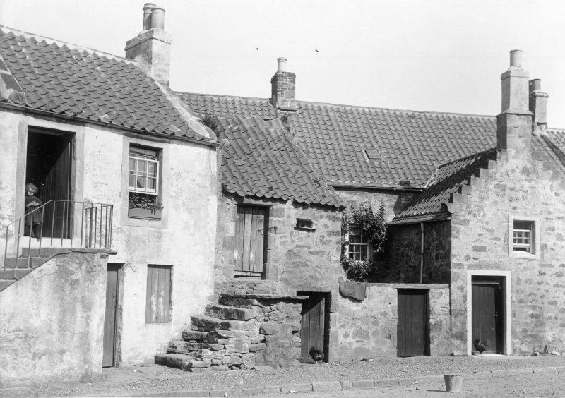 General view of  5-6-7 Rumford. Titled: 'Crail, Fifeshire'.