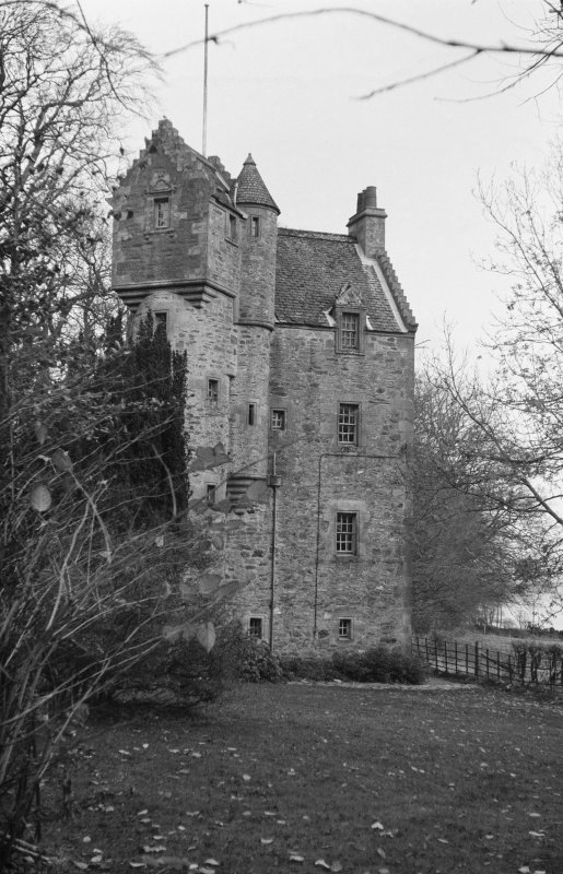 Bute, Wester Kames Castle. General view.