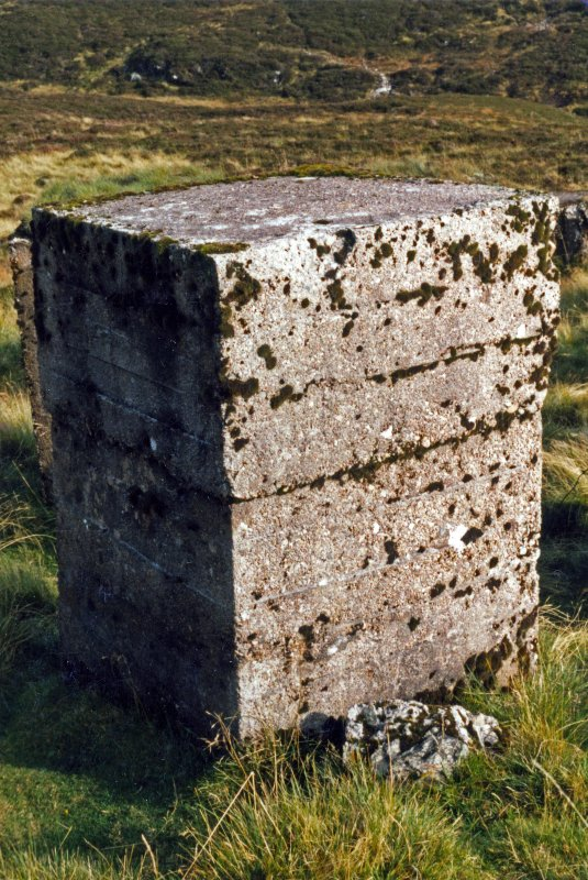 Glenshee, Devil's Elbow, anti-tank blocks, detail.