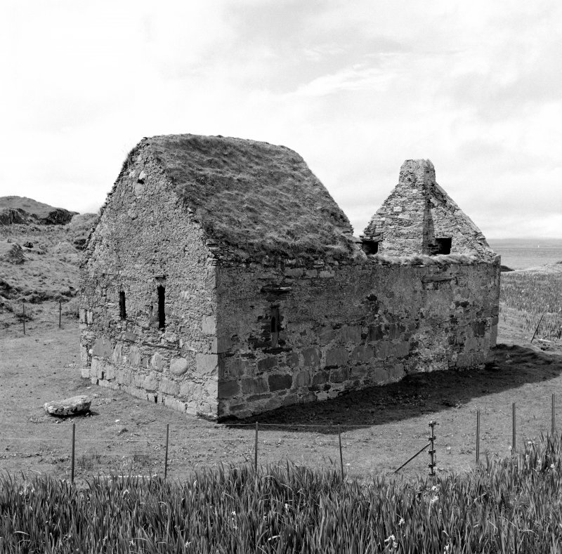 Eilean Mor, St. Cormac's Chapel. General view from North-East.