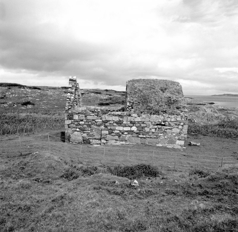 Eilean Mor, St. Cormac's Chapel. General view from South.