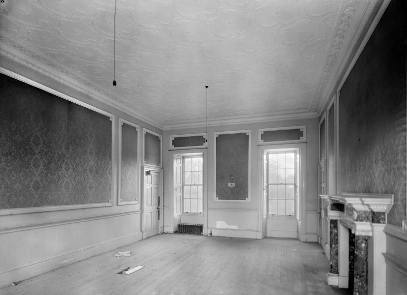 Interior. View of drawing room (first floor).