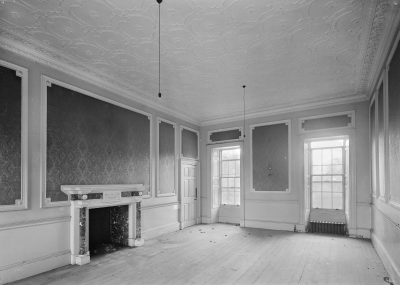 Interior. View of drawing room, first floor.