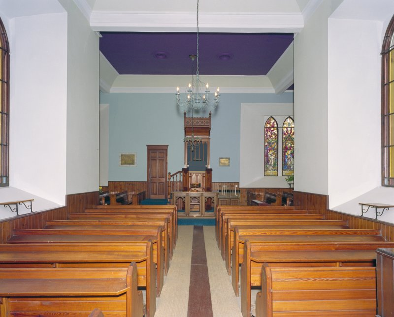Interior. View from N.