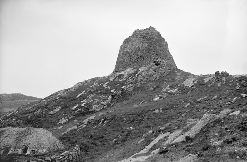 Lewis, Dun Carloway. View from east.