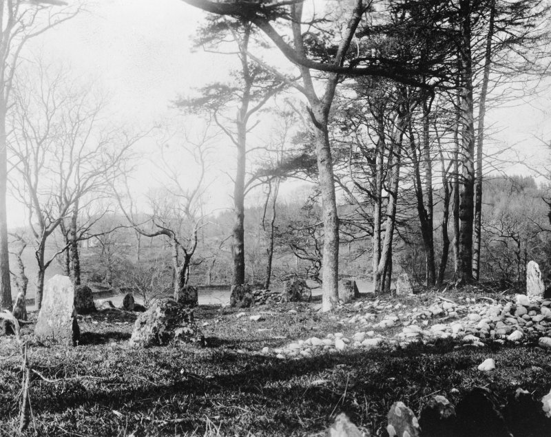 View of Templewood stone circle.