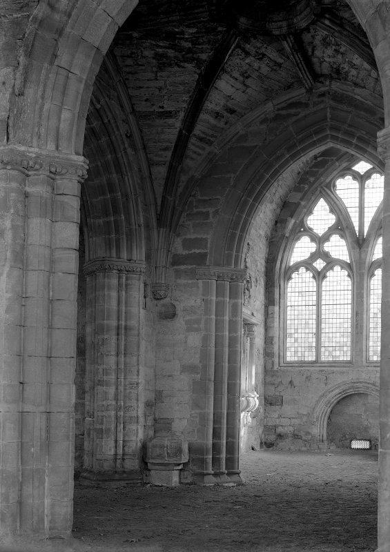 Interior. View from N of transept.