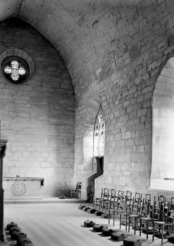 Interior. View of chapel.