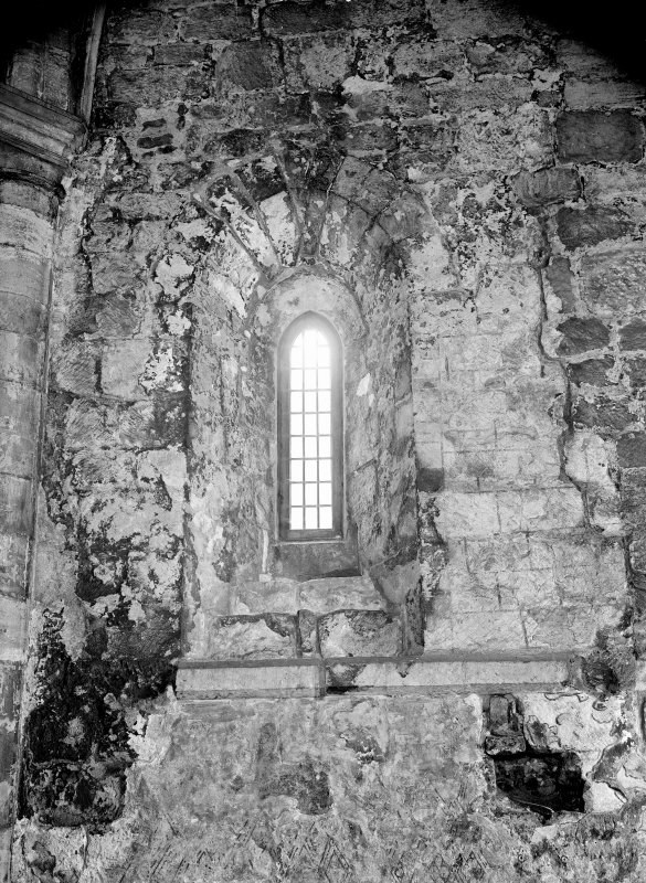 Interior. View of window.
