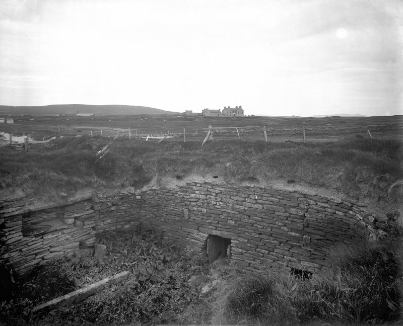 House 1; prior to excavation.