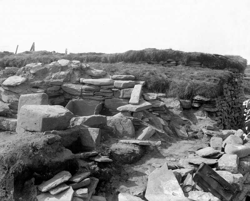 Site under excavation.