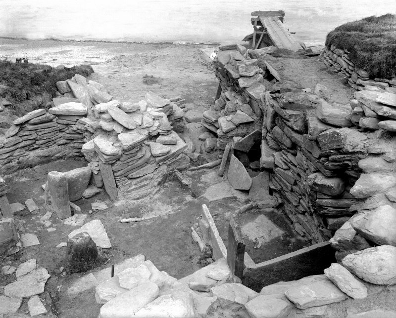 Excavation Photograph: House under excavation.
