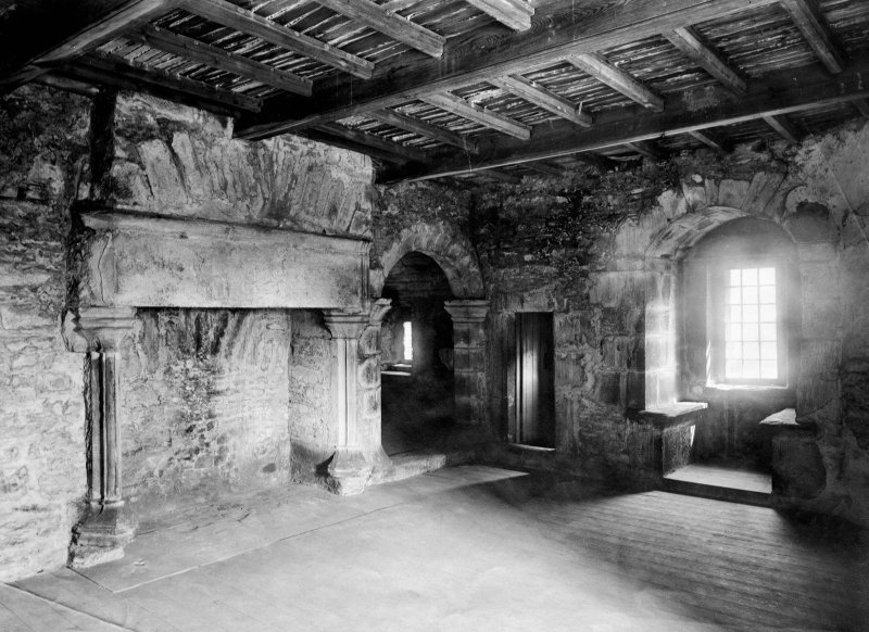 Interior. View of withdrawing room and oratory.