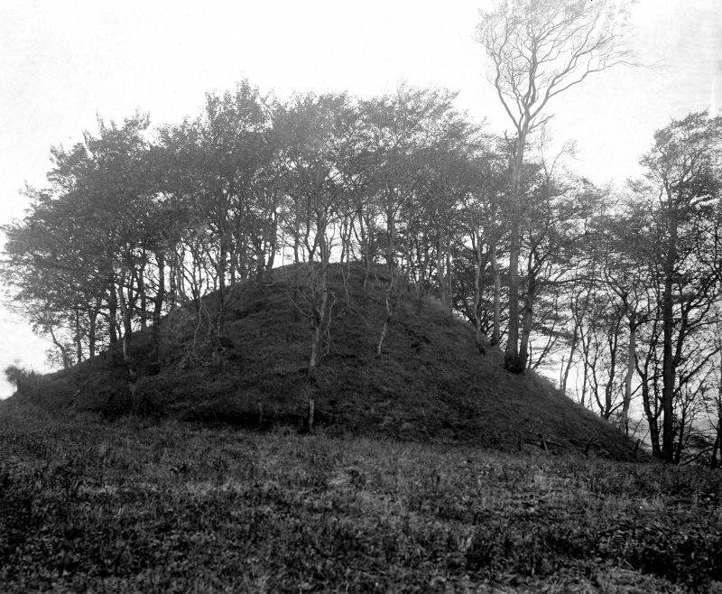 Conical hill fortification?