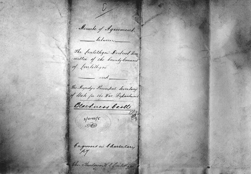 Copy of deed/Minute of Agreement.